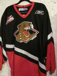 WHL Prince George Cougars Jersey c54d3a9d507