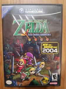 Zelda four swords adventures gamecube