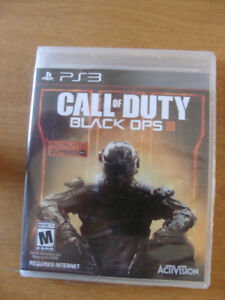 New, PS3  Call of Duty Black Ops III