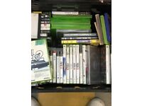 Job Lot, Games DVDS and Cds. 8 trays