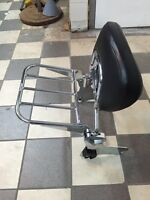 Quick release Backrest for Harley Touring