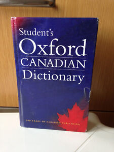 Student's Oxford Canadian Dictionary by Barber Katherine