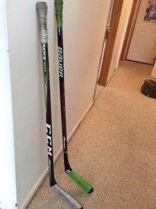 Bâtons de hockey enfant