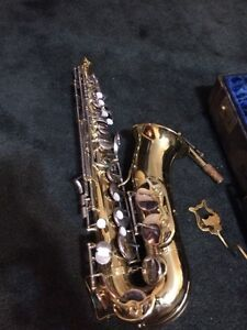 Musical instrument for sale. Saxophone I think