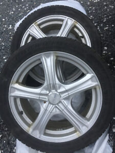 Winter Allow rims and  tires.