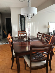 7 piece dining table and chairs for sale