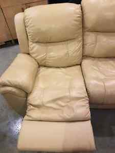 Elran Genuine Leather Reclining Couch  St. John's Newfoundland image 5