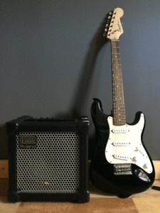 Kids Electric Guitar and Amp