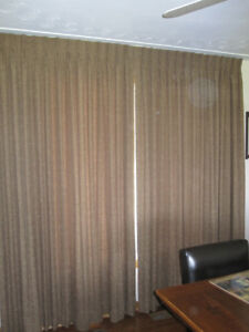 2 Sets Of Well Made Curtains (Black Out)