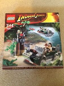 Lego Indiana Jones 7625 River Chase Sarnia Sarnia Area image 1