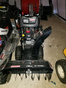 "Craftsman 30"" snowblower used one winter"