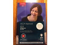 BPP Acca F6 Taxation study book, revision kit, passcards