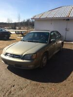 2000 Subaru Legacy GT AWD $1,100 also Swaps and Trades