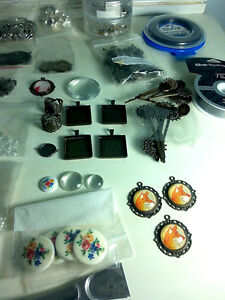Vintage Style Rings, Necklaces, Bobby Pins, Earrings Supplies Kitchener / Waterloo Kitchener Area image 2