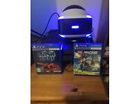 PlayStation VR + Camera + Riggs & Battlezone