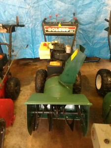 10HP Snowblower Reduced  (needs pully)
