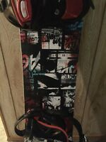RIDE AGENDA SNOWBOARD WITH SIMS BINDINGS