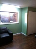 Independent one bedroom suite available now