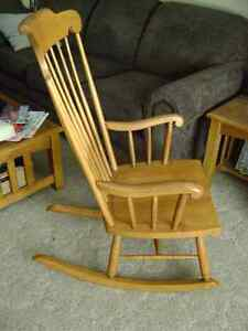 Wooden Rocking chair Peterborough Peterborough Area image 2