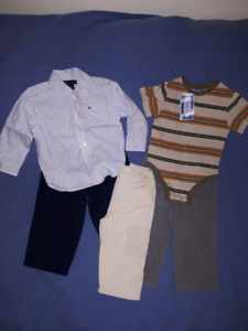 Toddler Boys Clothes Lot,Brand Name,Size 18mts,New & EUC