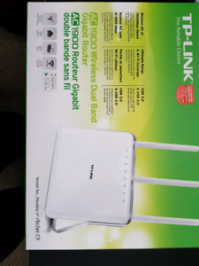 1900 wireless dual band gigabit router