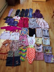 Vêtements fille 6 ans - 34 morceaux