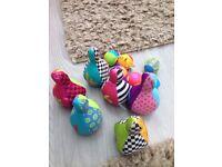 Skittles set with six balls
