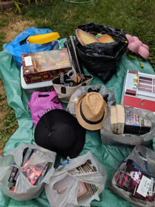 GARAGE SALE. All items must go. Many items to sell.