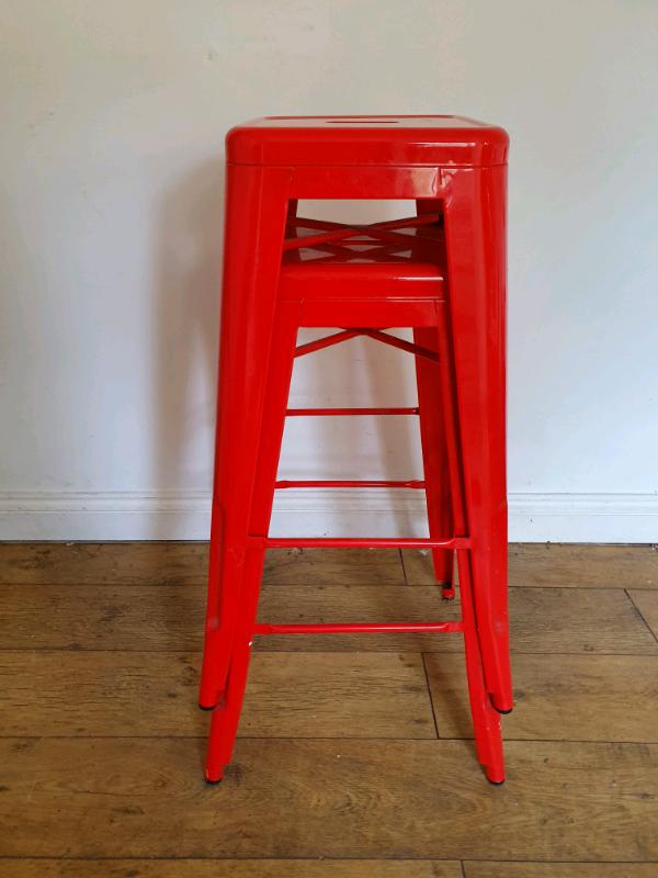 Astounding Retro Metal Bar Stools In Frome Somerset Gumtree Ibusinesslaw Wood Chair Design Ideas Ibusinesslaworg