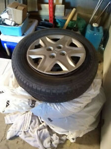 185/70R14 all seasons on rims, from 2005 honda civic