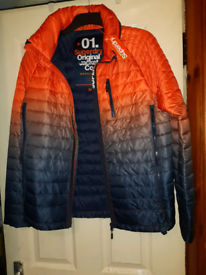 Men's superdry jacket size medium
