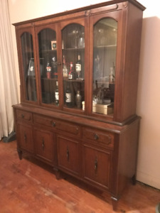 Antique Canadian Made Hutch
