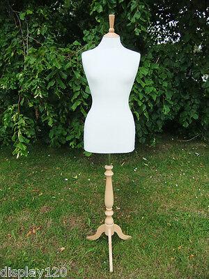 Femenino Tamaño 10-12 Confección Maniquí Costura
