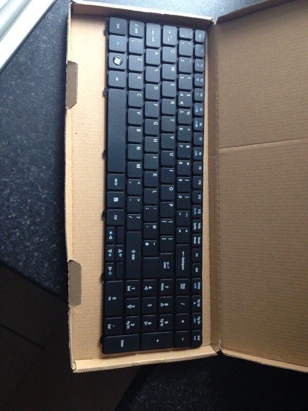 Replacement laptop keyboard