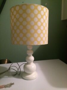 Pottery Barn Teen lamp