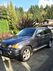 2003 BMW X5-PARTS FOR SALE
