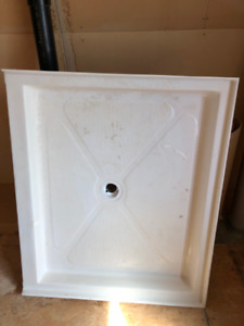 Un-installed shower base