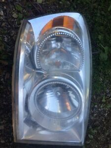 Stock dodge head with led rings