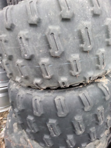 Dunlop tires.