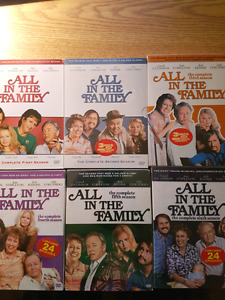 """""""All in the Family"""" seasons 1-6"""