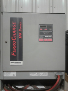 Forklift BatteryFerro Charger IFR Series- 24Volt battery charger