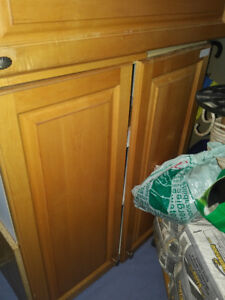 Solid Maple Kitchen Cabinets - Clear Finish - on Hay Bay $750