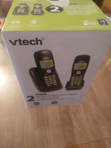 Vtech telephone (two pack) brand new