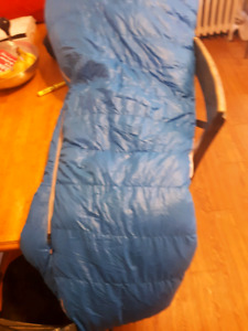 MEC Lightweight down Sleeping bag and Mattress Pad x2