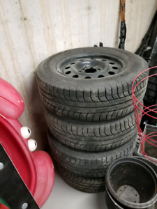 F150 Winter Tires on Rims 2015 and newer