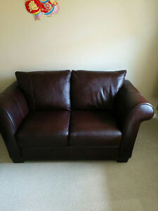 3 pc leather sofa set