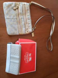 Coach bag and brand new coach wallet