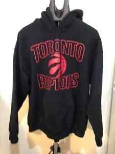 Toronto Raptors Hooded Sweater- Men's Large