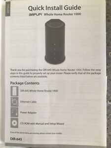 D-Link Whole Home Router 1000 Peterborough Peterborough Area image 3