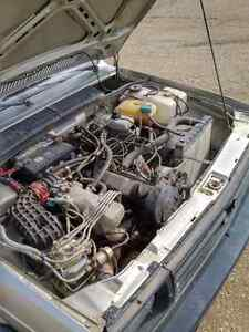 1987 Volkswagen Fox 2dr 1.8L
